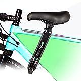 Sudadera Fahrrad kindersitz für Mountainbikes, vorne montierte Fahrradsitze für Kinder von 2-5 Jahre (bis 35 kg),Tragbarer Abnehmbarer Vorneliegender...