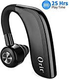 orit Bluetooth Headset [25 Stunden Gesprächszeit, Eleganten Business Stil] Bluetooth Kopfhörer Handy Freisprech Headset mit Mikrofon In Ear...
