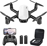 Potensic Drohne mit Kamera 2K HD FPV Kamera Live Übertragung Handy mit 20min Flugzeit, Faltbare Quadrocopter mit Schwerkraftsensor Mini Drohne Spielzeug...