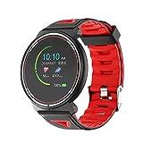 Duang Smartwatch, Bluetooth Fitness Tracker Uhr IP67 Wasserdichter Aktivitäts-Tracker Pulsmesser/Blutdruckmessgerät Schrittzähler, Schlaf-Monitor für Damen...