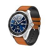 Intelligente Uhren, 1.3 zoll Full Round HD Farb Touchscreen Fitness Tracker 5ATM Wasserdichte Fitness-Uhr, Schlaf Herzfrequenz Tracker Smart Reminder, lange...