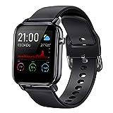COULAX Smartwatch, Fitness Tracker Armband mit 1.4 Zoll Touch Farbdisplay, Sportuhr mit Pulsmesser Schlafmonitor Musiksteuerung Schrittzähler Stoppuhr für...