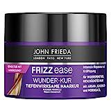 John Frieda Frizz Ease Wunder-Kur - Tiefenwirksame Haarkur - Inhalt: 250ml - Für widerspenstiges Haar - Intensiv-Reparatur und Kräftigung