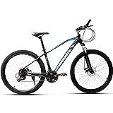 PBTRM 29-Zoll 21-Gang Hardtail Mountainbike, Rahmen Aus Kohlenstoffstahl, Doppelscheibenbremse, Rennrad Mit Variabler Geschwindigkeit Für...