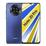 CUBOT Note 20 Pro Smartphone ohne Vertrag, 5G WiFi, 6GB RAM/128GB, 6.5 Zoll HD Display, 4200mAh Akku, 4 Kameras, 4G Dual SIM, Android 10, Blau