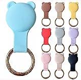 KURT HOME Premium Zubehör Anhänger Case GPS mit Motiv Hülle Soft Apple AirTag Holder Schlüsselanhänger Silikon für Kinder Mädchen Kleinkind Hund kaufen...