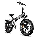 Docrooup DS2 E-Bike,Elektrofahrrad erwachsene 20' Mountainbike mit 500W-750W Motor,Abnehmbare 48V/12Ah Abnehmbarer Akku / Shimano...