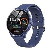 LEMFO Smartwatch für Damen Herren, IP68 Wasserdicht Sportuhr Fitness Tracker mit Blutdruckmessung, Fitnessuhr Herren mit Schrittzähler Pulsuhr Schlafmonitor...