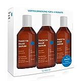 3x Thiocyn Haarserum für Männer bei Haarausfall • Vorteilspaket • Wissenschaftlich fundierte Spezialpflege ohne bekannte Nebenwirkungen • MADE IN...