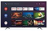 SHARP 65BL6EA Android TV 164 cm (65 Zoll) 4K Ultra HD LED Fernseher (Smart TV, Harman Kardon, Google Assistant) [Modelljahr 2019]