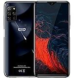 【2020】 ELEPHONE E10 Smartphone ohne Vertrag, Android 10 4G Handy, Fünf Kamera 48MP + 13MP, 6,5 '' Wassertropfenbildschirm, Octa Core 4GB+64GB, DUAL SIM +...