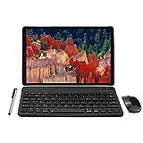 Tablet 10 Zoll Android 10.0 - YOTOPT 4G LTE Tablet PC, Octa-Core 1.6Ghz SC9863, 4GB RAM, 64GB ROM mit Tastatur Maus Und Zubehör, Dual SIM, WLAN, GPS,...