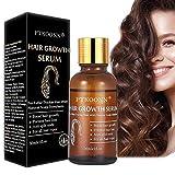 Hair serum,Haarwachstum Serum,anti haarausfall für dünnes Haar,Neues Haarwachstum stimuliert,Verdickung fall und Das beste Geschenk gegen Haarausfall