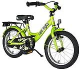 BIKESTAR Premium Sicherheits Kinderfahrrad 16 Zoll für Jungen und Mädchen ab 4-5 Jahre | 16er Kinderrad Classic | Fahrrad für Kinder Grün