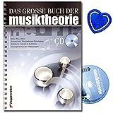 Das große Buch der Musiktheorie (mit CD) - Standardwerk für alle Musikschaffenden - Notenschrift, Grundlagen der Harmonielehre, Tonleitern, Blue Notes, Dur...