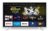 Grundig Vision 6 - Fire TV Edition (40 GFW 6060) 101 cm (40 Zoll) Fernseher (Full HD, Alexa-Sprachsteuerung, Magic Fidelity) weiß