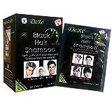 ROMANTIC BEAR Instant Black Hair Shampoo, 5 Minuten färben Haare dauern für einen Monat, natürliche Inhaltsstoffe Black Hair Produkte für Männer und Frauen...