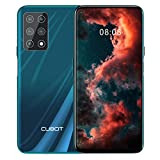 CUBOT X30 Smartphone ohne Vertrag, 8GB RAM/256GB, 6.4 Zoll HD Display, 5-Kameras 48MP, 4200mAh Akku, Android 10, Dual SIM, 4G Global Version, Gradient