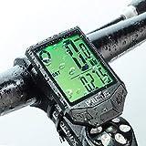 PRUNUS [Aktualisiert] Fahrrad Tachometer wasserdichte IP66 Fahrradcomputer Kabellos mit 20 Funktionen, Rad-Tacho mit Auto an/aus für Outdoor-und...