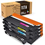 STAROVER Kompatibel Tonerkartusche als Ersatz für HP 117A für Color Laser 150a 150nw MFP 178nwg 179fwg, Toner Kit von W2070A W2071A W2072A W2073A (Schwarz...