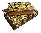 Enchanted World of Boxes 'Regus Mundi' Buchbox Set mit 2 Geheimen Schmuckboxen
