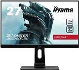 iiyama G-MASTER Red Eagle GB2760QSU-B1 68,58 cm (27') Gaming Monitor WQHD (DVI, HDMI, DisplayPort, USB 3.0) 1ms Reaktionszeit, 144Hz, FreeSync,...