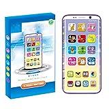 Daxoon Musik Smartphone Spielzeug Kinder Simulation Lernenspielzeug Spiel-Handy für Baby Kleinkinder