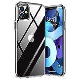 TORRAS Diamond Series für iPhone 11 Hülle Extrem Transparent (Vergilbungsfrei) Starke Stoßfestigkeit Schutzhülle Hard PC Back und Soft Silikon Bumper...