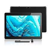 Android Tablet 10,1 Zoll, Android 8.1, Quad Core CPU, Dual SIM Card, 2GB+64GB, IPS HD (1280 x 800), 3G Tablet Pad mit Zwei SIM Kartensteckplätzen,...