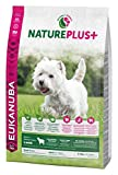 Eukanuba NaturePlus+ weizenfreies Trockenfutter für kleine Rassen, reich an gefrierfrischem Lamm, 2,3kg, 1er Pack