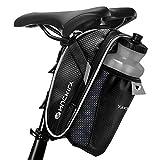 Fahrrad Satteltasche, otumixx Fahrradtasche Wasserdichte Rahmentasche Satteltasche Fahrrad Tasche Mountainbike Bag mit Rücklichthalter und reflektierende...