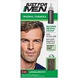 Just for Men Original Formula Mittelbraune Haarfarbe, stellt die ursprüngliche Farbe für ein natürliches Aussehen wieder her – H35