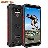 OUKITEL WP5 Pro (2020) Outdoor Smartphone Ohne Vertrag, 4G Dual SIM IP68 Outdoor Handy,8000mAh Akku 4GB 64GB,Android 10 Global Version 5,5 Zoll Triple Kamera...
