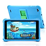 qunyiCO Y7 Kinder Tablet 7 Zoll, Tablet für Kids, 1024 * 600 Full HD-Display, 10,0 Android GO, 2 GB RAM, 32 GB ROM, IWAWA-App mit GMS-Zertifizierung,...
