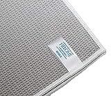 HelOME Microfaser Trockentuch Geschirrtuch extra saugstark 38 x 60 cm Microfasertuch für Küche, Gastronomie, Auto. Trocknet Fenster, Armaturen, Gläser,...