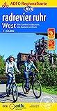 ADFC-Regionalkarte radrevier.ruhr West, 1:50.000, reiß- und wetterfest, GPS-Tracks Download: Von Xanten bis Bochum, von Haltern bis Essen (ADFC-Regionalkarte...