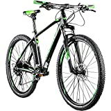 Whistle Mountainbike 29 Zoll MTB Hardtail Patwin 2051 2020 Fahrrad Mountain Bike (schwarz/neongrün, 48 cm)