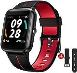 Smartwatch GPS,Fitness Tracker Fitness Armbanduhr Pulsuhr 5ATM Wasserdicht Touch-Farbdisplay Sportuhr Smart Watch Schrittzähler,Stoppuhr Wettervorhersage...