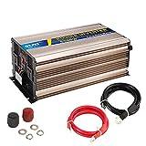 XINGXINGNS Wechselrichter 5000W 12v auf 220v Spannungswandler Konverter, Solar Reiner Sinus Spannungswandler mit Steckdose, USB für Laptops,Kühlschrank Und...