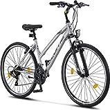 Licorne Bike Premium Trekking Bike in 28 Zoll - Fahrrad für Jungen, Mädchen, Damen und Herren - Shimano 21 Gang-Schaltung - Mountainbike - Crossbike -...