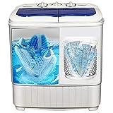 JINNIN Doppelschaufel-Waschmaschine Waschmaschine integriert Wasch- und Entwässerungsfunktionen, Kleidung und Schuhe können gewaschen Werden