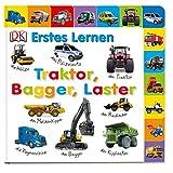 Erstes Lernen. Traktor, Bagger, Laster: Pappbilderbuch mit Griff-Register und über 100 Fotos ab 1 Jahr