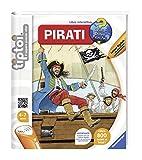 Ravensburger Italy 00630 00630Tiptoi-Buch Piraten, farblich Sortiert - italienische Version