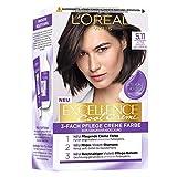 L'Oréal Paris Excellence Cool Creme 5.11 Ultra kühles Hellbraun, 258 g
