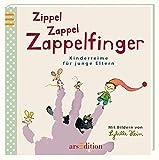 Zippel Zappel Zappelfinger: Kinderreime für junge Eltern | Handliches kleines Bilderbuch mit Fingerspielen, Kniereitern und Versen, Geschenk zur Geburt
