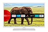 JVC LT-32VF5955W 32 Zoll Fernseher (Smart TV inkl. Prime Video / Netflix / YouTube, Full HD, Bluetooth, Works with Alexa, Triple-Tuner) [Modelljahr 2021]
