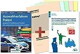 Auswahlverfahren und Einstellungstest Polizei – alles in einem Paket: Bewerbung, Vorstellungsgespräch, Eignungstest, Sporttest, Assessment Center   Geeignet...