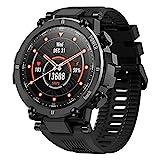 KOSPET Raptor Smartwatch, Sport Smart Watch mit ultraleichtem und robustem Gehäuse, 30 Tage Akkulaufzeit, IP68 wasserdicht, 20 Sportmodi Outdoor Activity...