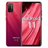Smartphone ohne vertrag Helio P60 Octa-Core, Ulefone Note 11P Android 11 Handy 6,55', 8GB+128GB, 4400mAh, 48MP+8MP Kamera+2MP Kamera, 3-Karten-Steckplatz,...