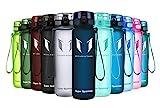 Super Sparrow Trinkflasche - Tritan Wasserflasche - 500ml - BPA-frei - Ideale Sportflasche - Schnelle Wasserdurchfluss, Flip Top, öffnet Sich mit 1-Click...